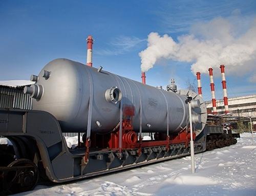 Транспортиране от завода на подгревател високо налягане ПВН-К 7