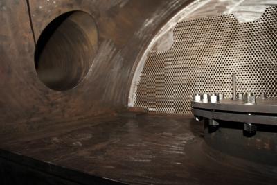 Визуален оглед за чистота по вода на водна камера на ПВН-К (подгревател високо налягане камерен тип) за АЕЦ-Козлодуй ЕАД